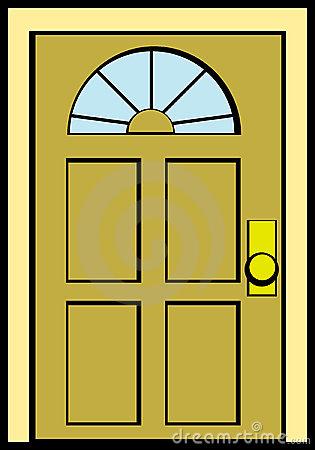 Shut Door Clipart.