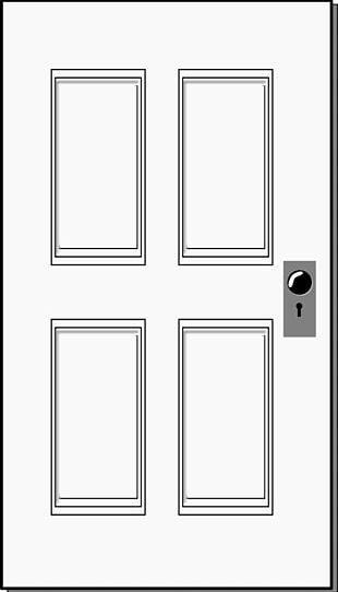 Black Door Cliparts PNG Images, Black Door Cliparts Clipart.