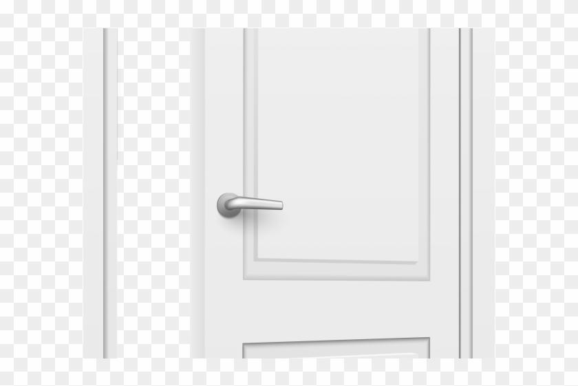 Creepy Clipart Open Door.