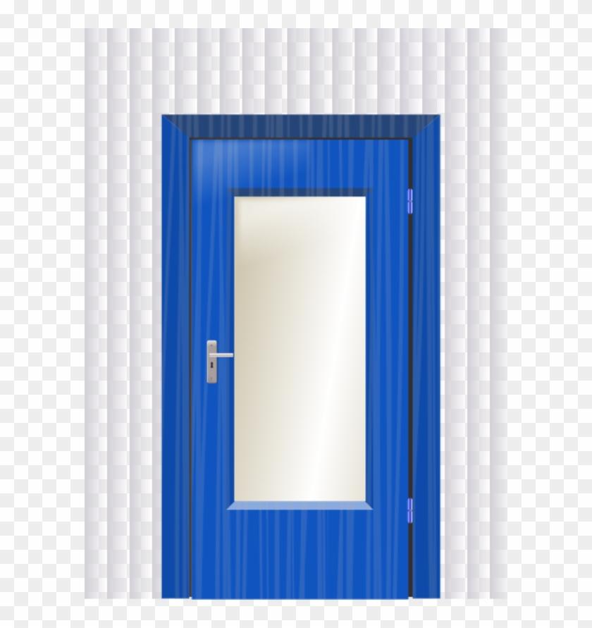 Door clipart blue door, Door blue door Transparent FREE for.