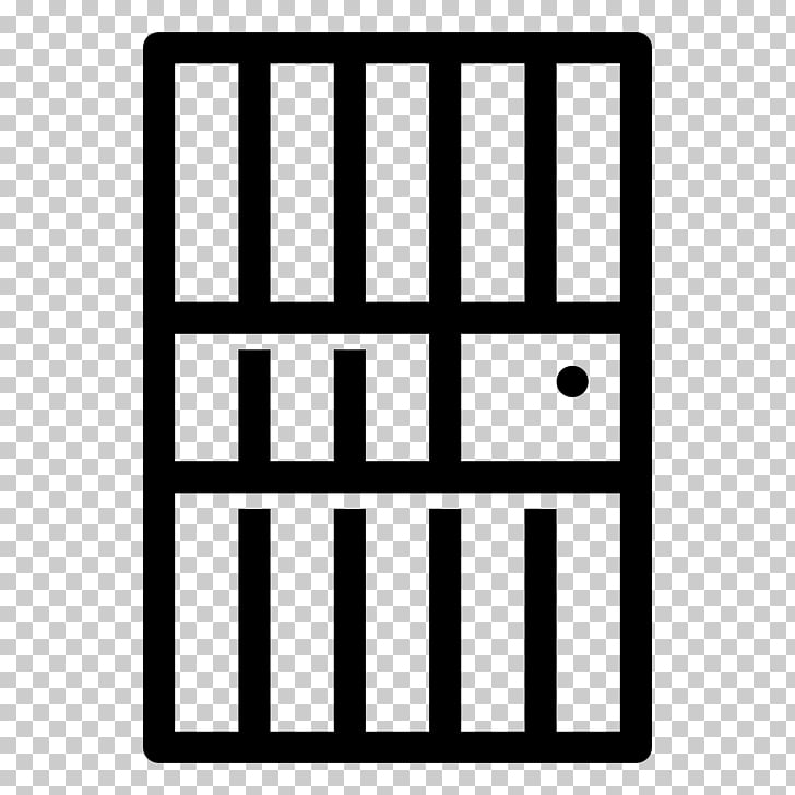 Prison cell Door The Noun Project Icon, Jail HD PNG clipart.
