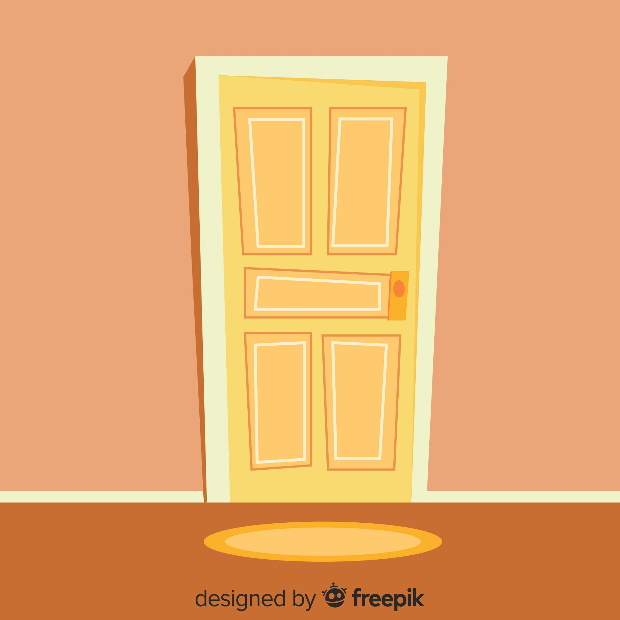 door vector clipart in 2019.