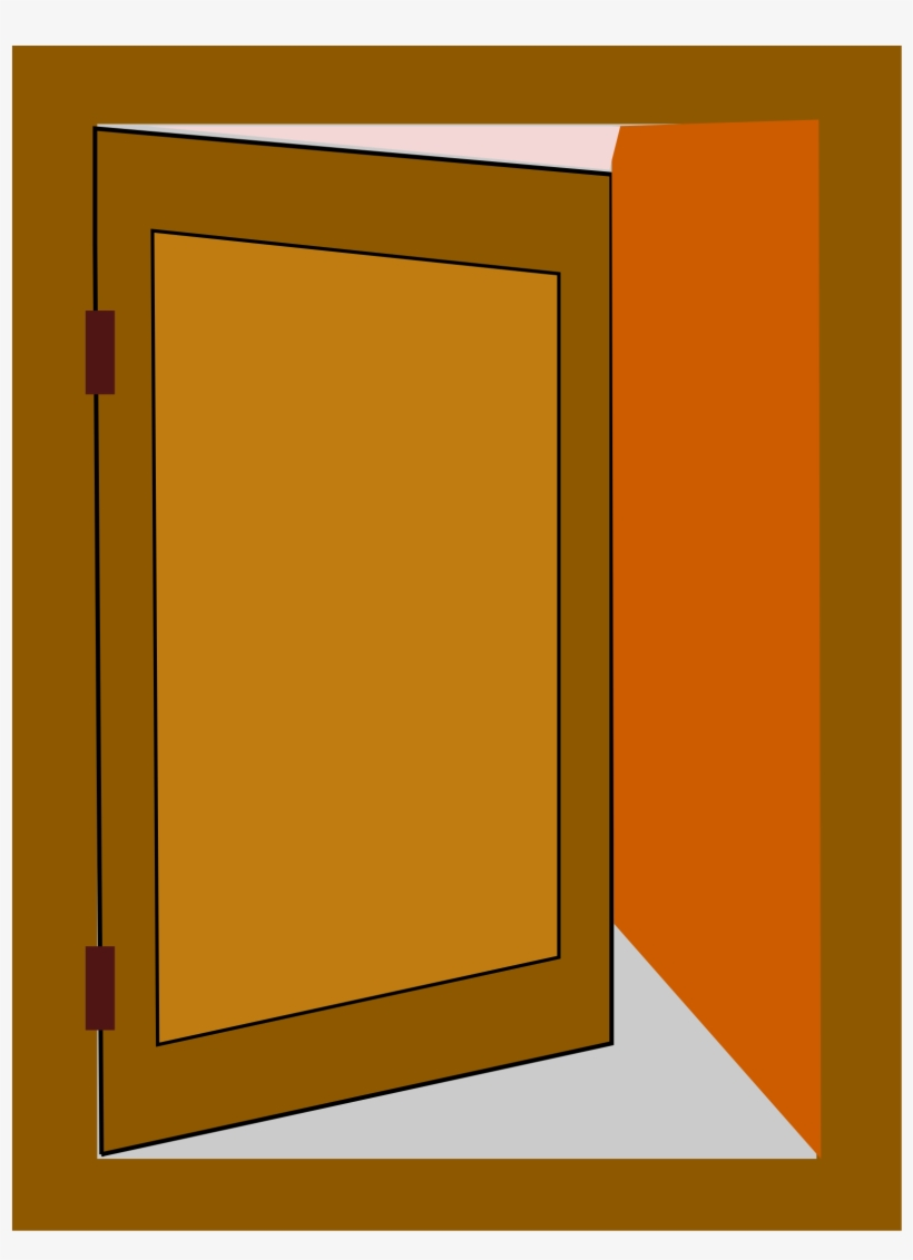 28 Collection Of Door Open Clipart.
