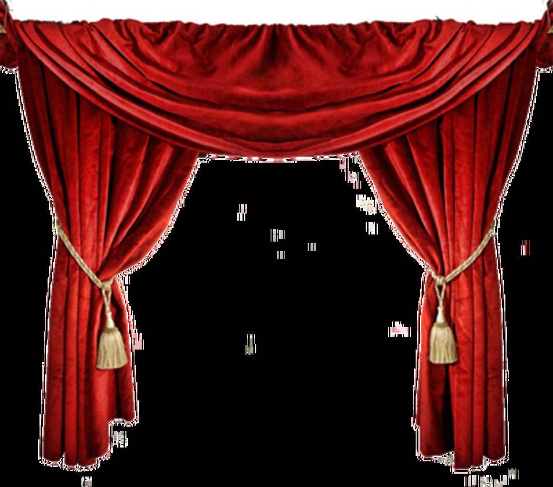 Door Curtains Clipart.