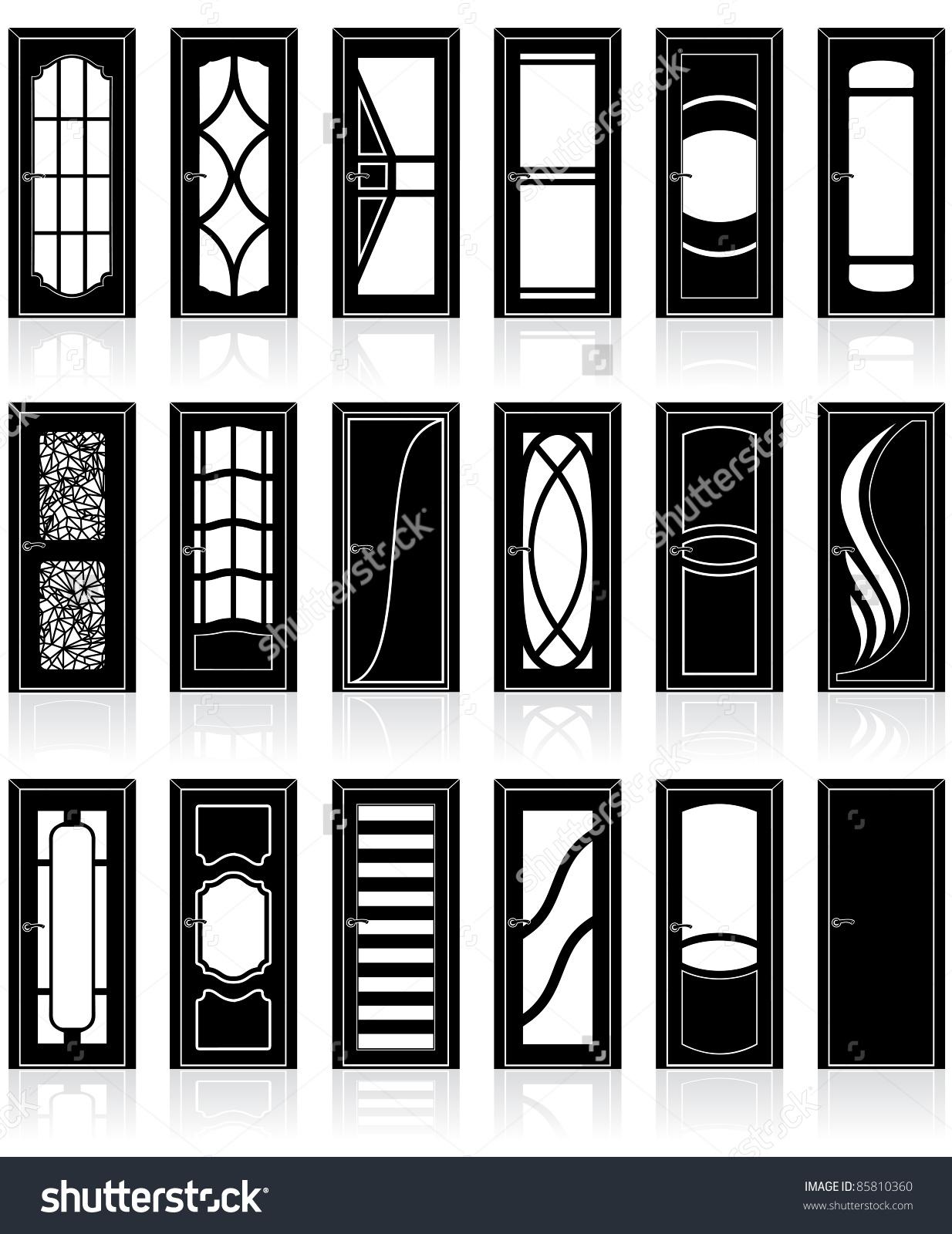 room doors vector art - photo #33