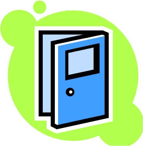 Open Door Free Clipart.