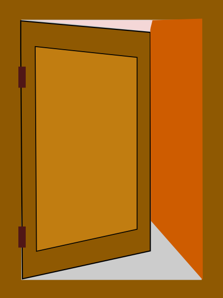 Animated Door Clipart.
