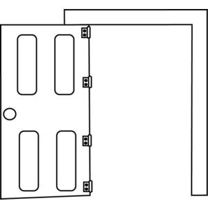Door frame clipart.