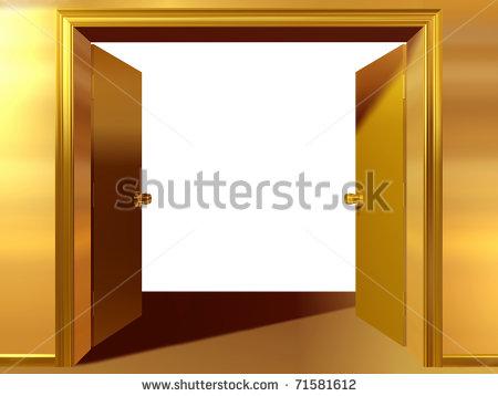 Double Door Clipart.