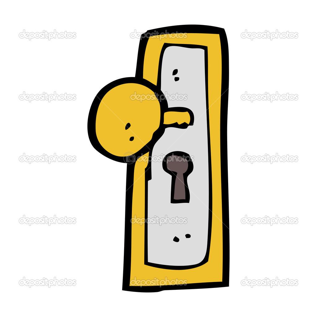 Door handle — Stock Vector © lineartestpilot #36168513.