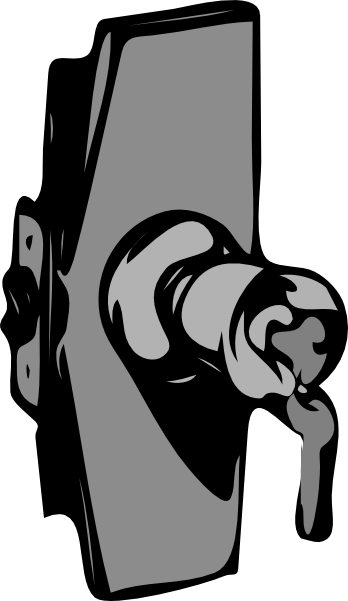 Door Hardware Clip Art.