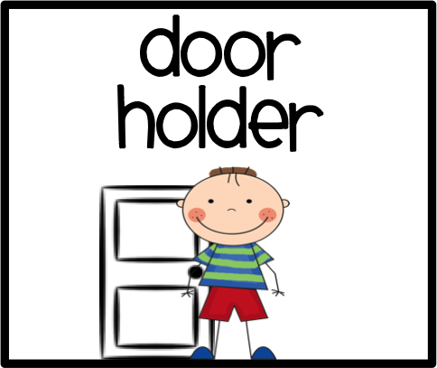Door Helper Clipart.
