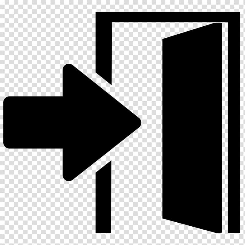 Open door illustration, Door Computer Icons Lock Key, exit.