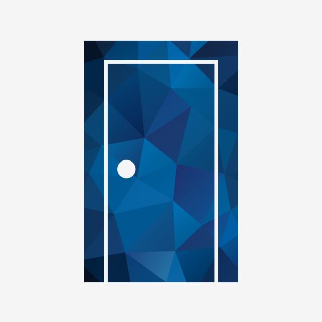 Vector Door Icon, Closed Door, Door, Wooden Door PNG and Vector with.