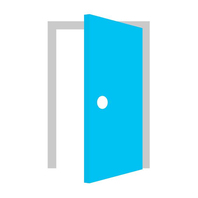 Png Door Vector #10422.