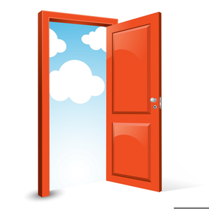 Door clipart front door, Door front door Transparent FREE.