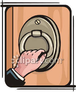 Door Knocker Clipart.