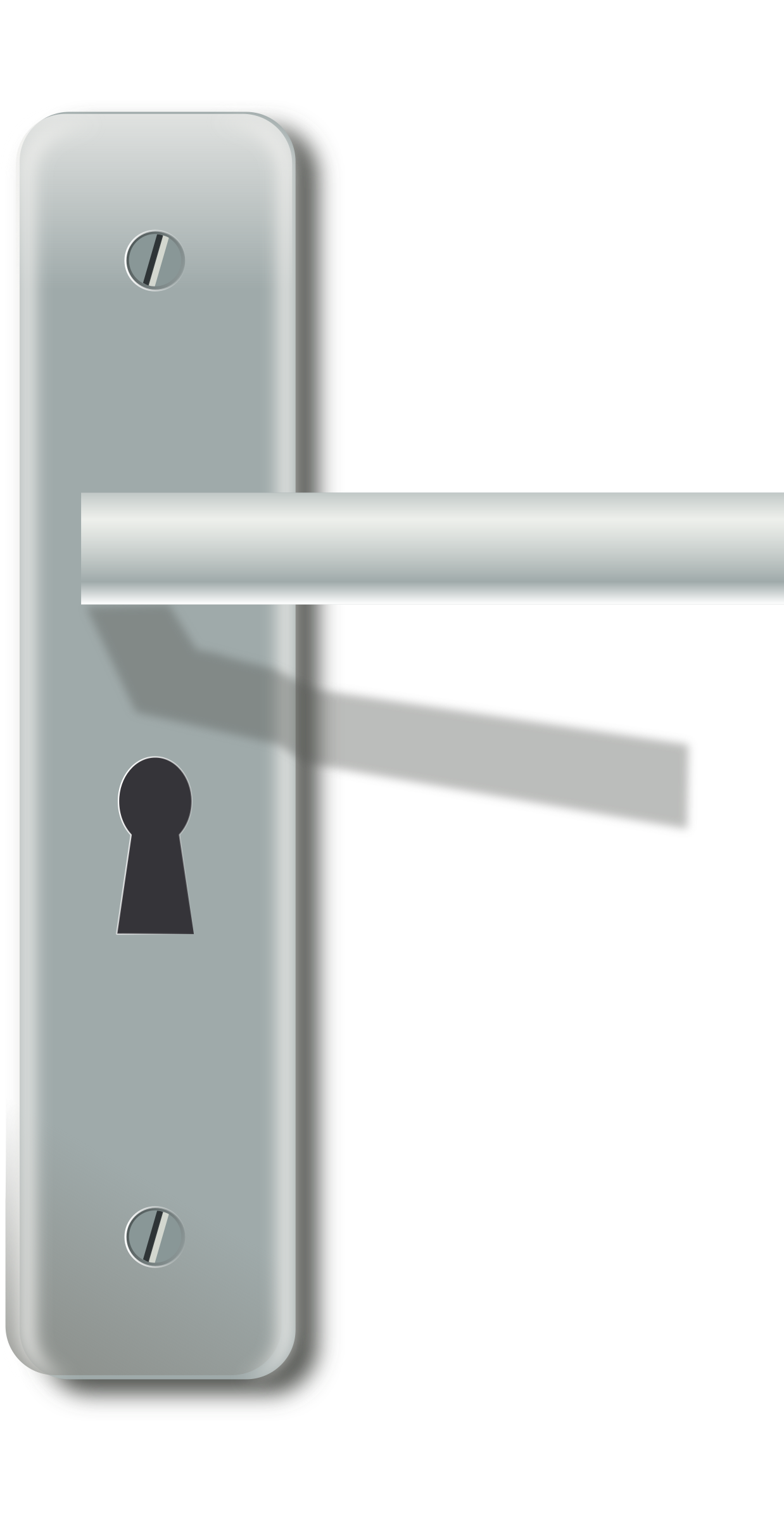 Free Clipart Locked Door