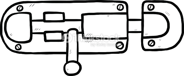 Door Latch Clip Art.