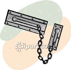 Locked Door Clipart.