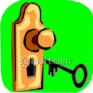 Free Clipart Locked Door.