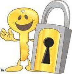 Locked Door Clip Art.