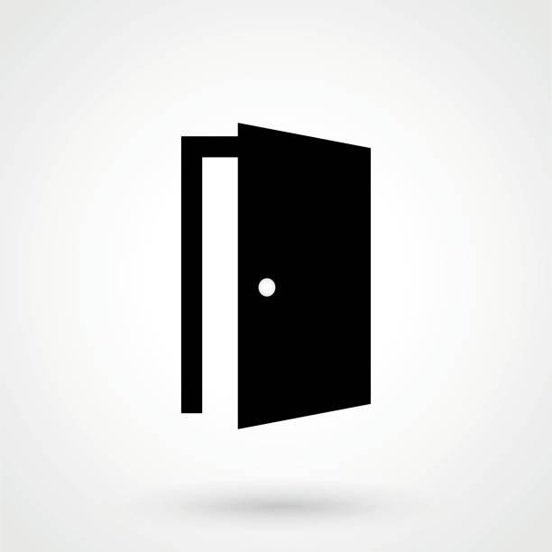 Best Door Open Illustrations, Royalty.