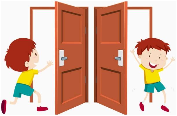 Door Open Cliparts 10.