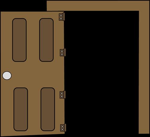 Door Open Cliparts.