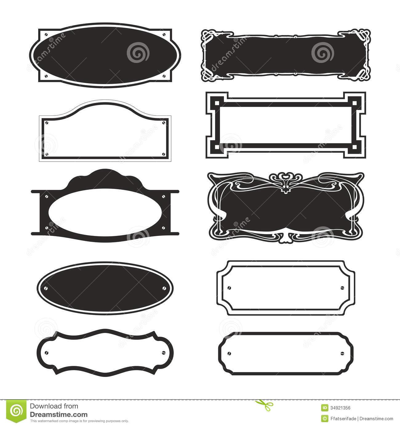 Wooden Door Name Plates
