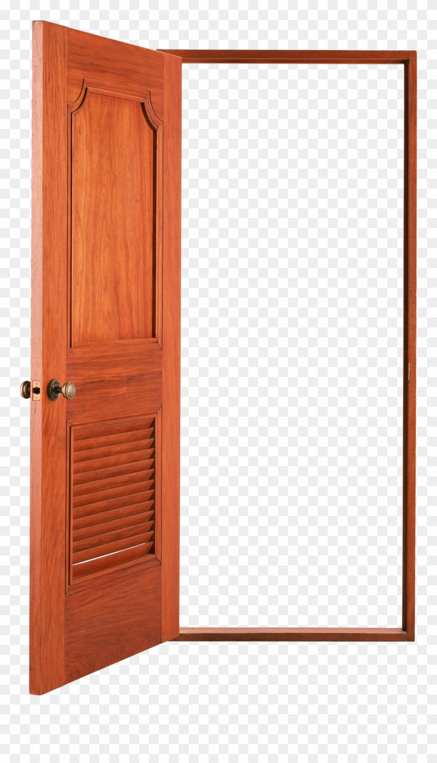 Open Door Png Clip Art For A New Year S Resolution.