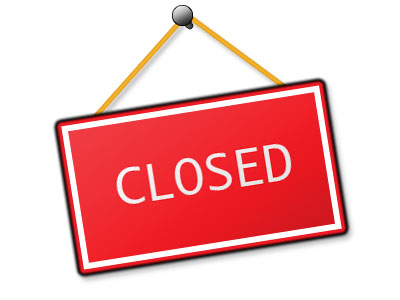 Closed Sign Clipart.