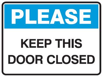 Close Door Sign Clipart.