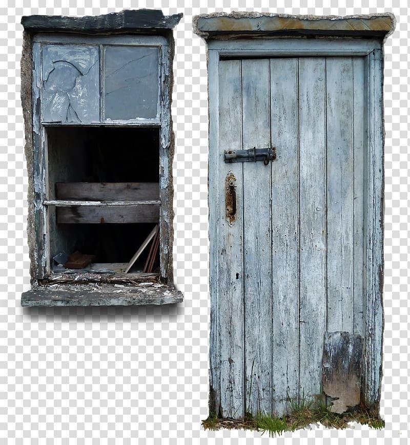 Window Door Texture mapping, interior transparent background.