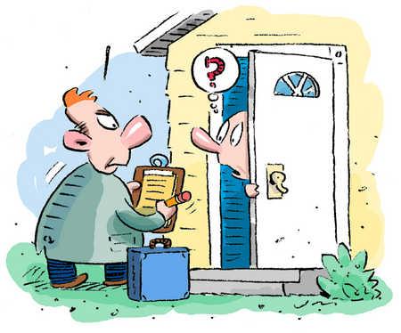 Door to Door Sales Water Softeners.