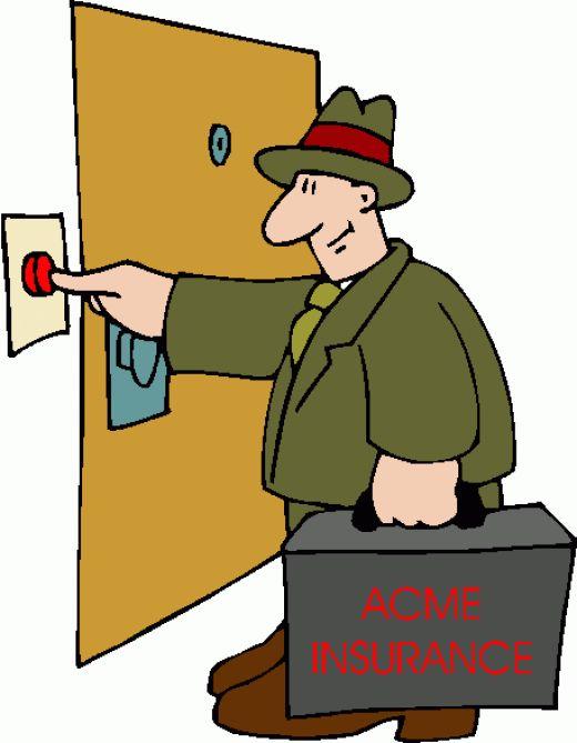Get better at door to door insurance sales.