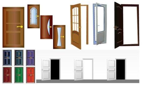 Wooden security door Clipart Picture Free Download.