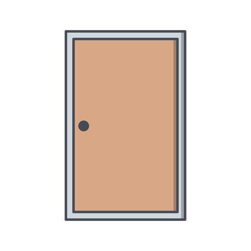 Door Vector Icon.