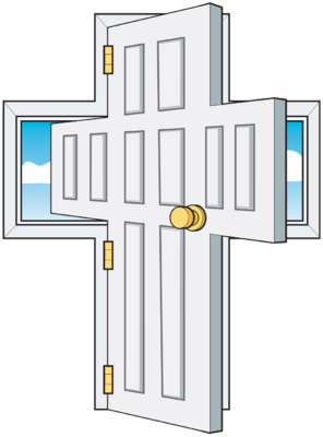 Image: Cross Doorway.