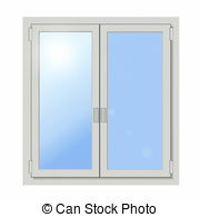 Glass panes clipart #4