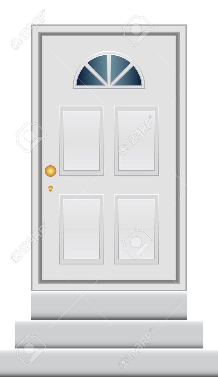 Vector Illustration Of Door Royalty Free Cliparts, Vectors, And.
