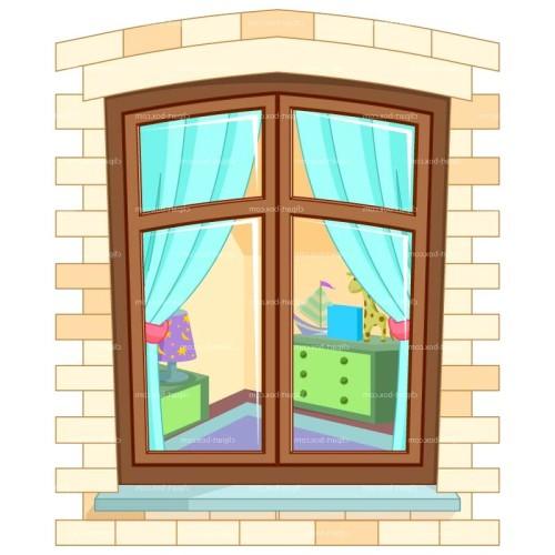 Окно для домика 61