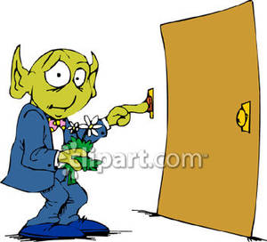 Ringing A Doorbell.