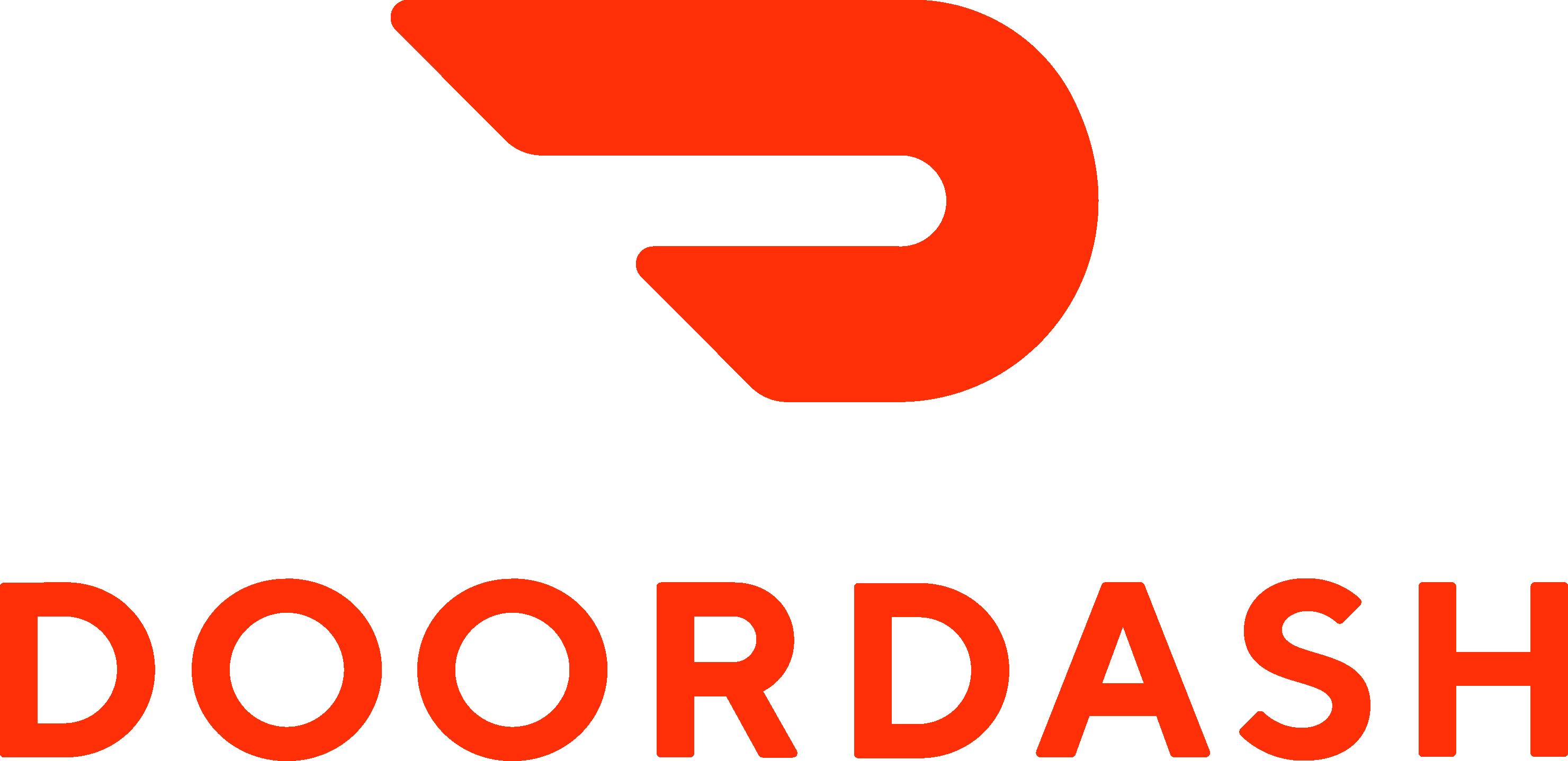 Doordash Logo Vector Icon Template Clipart Free Download.