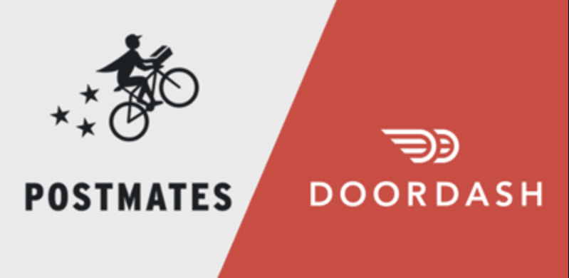 Doordash, Postmates attract college student workers.