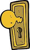 Door knob Clip Art Illustrations. 843 door knob clipart EPS vector.