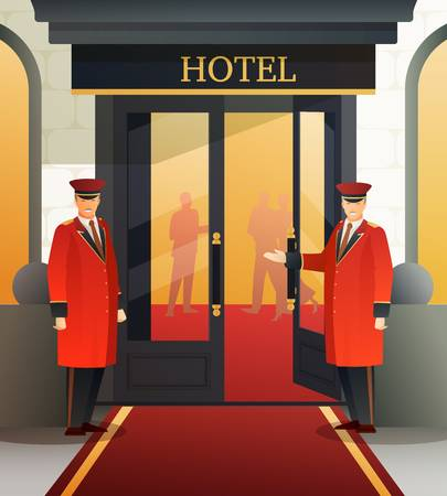 1,138 Doorman Stock Illustrations, Cliparts And Royalty Free Doorman.