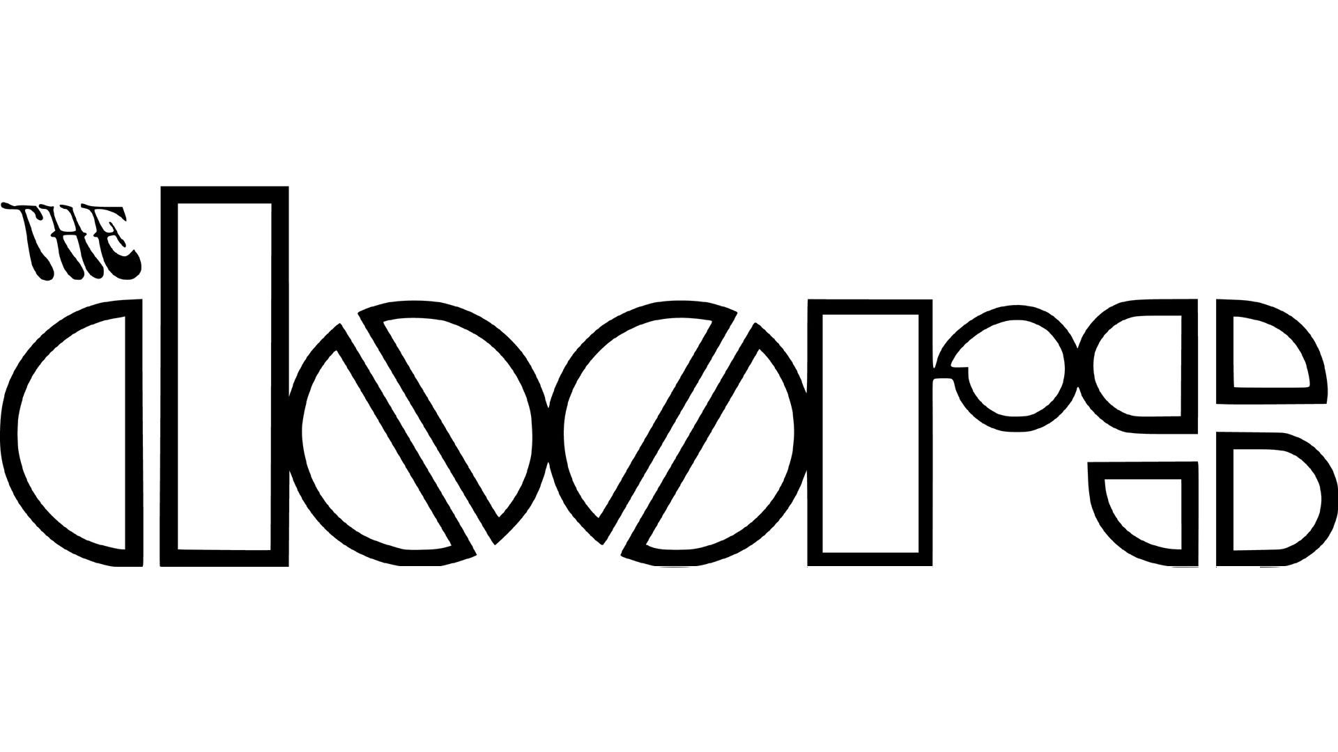 Image result for doors band logo.