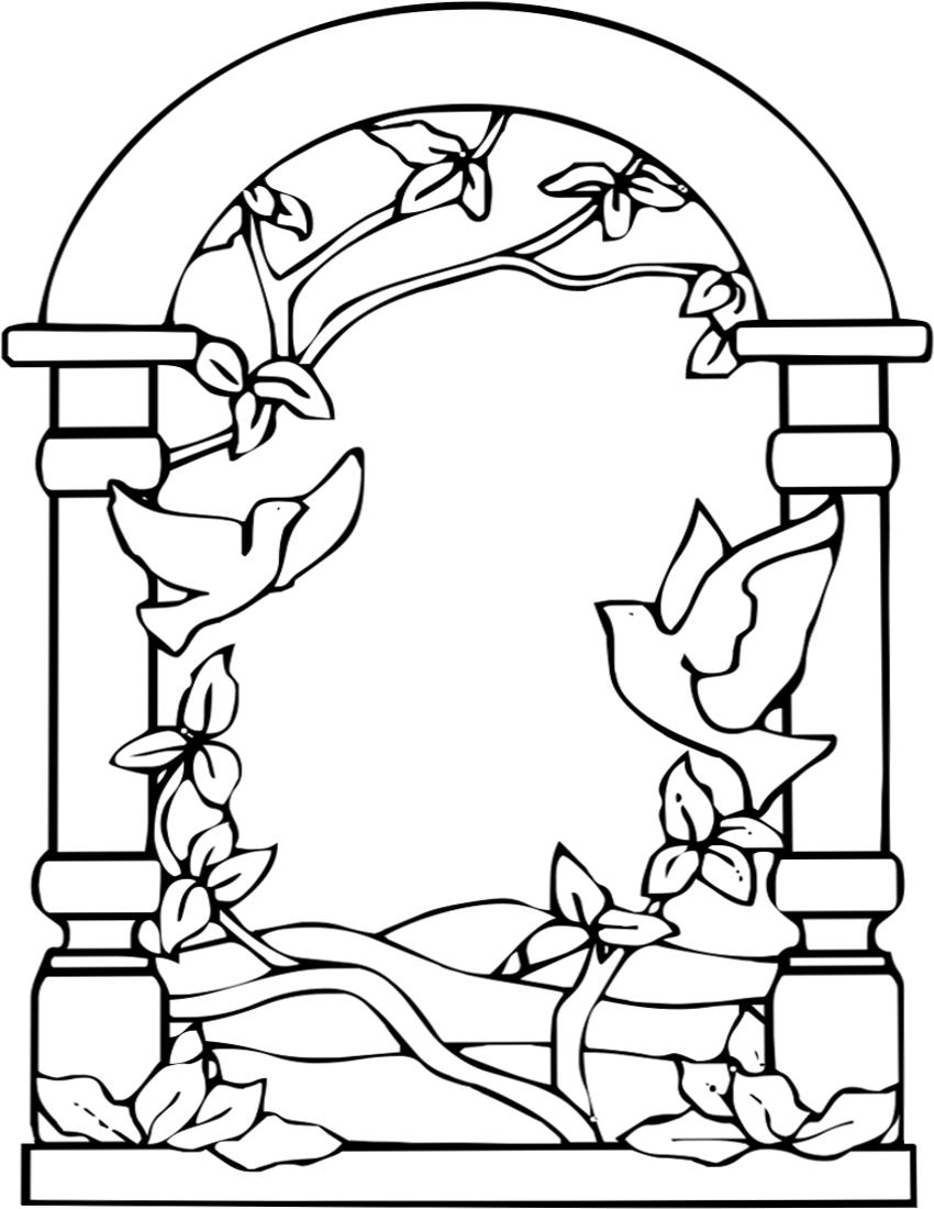 Window Doorway Clip Art Download.