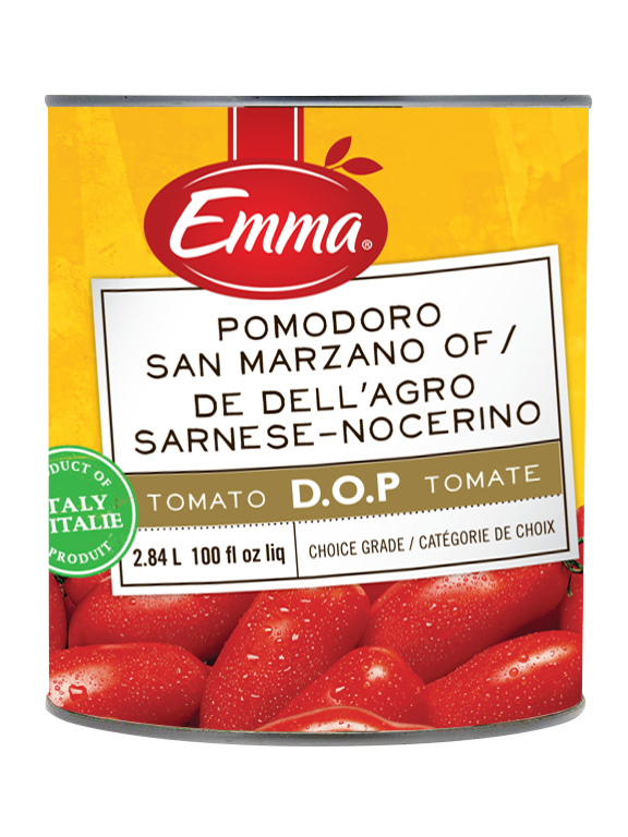 Emma Authentic San Marzano Tomatoes DOP.